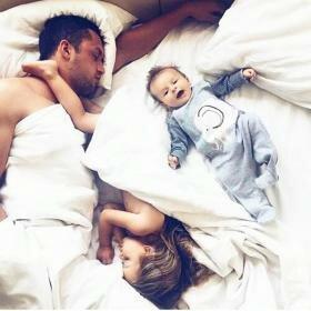 Сколько и Как спит ваш ребенок?
