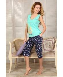 Пижама женская Violet delux М-53